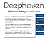 Screen shot of the Deephaven Ltd website.
