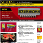 Screen shot of the Airtect Ltd website.