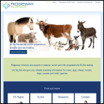 Screen shot of the Ridgeway Science Ltd website.