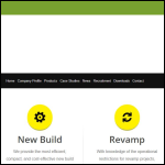 Screen shot of the Zeta-pdm Ltd website.