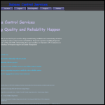 Screen shot of the Subsea Control Services Ltd website.