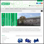 Screen shot of the GVE Ltd website.