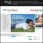 Screen shot of the Eaton-Williams Group Ltd website.