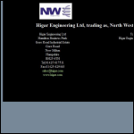 Screen shot of the North West Engineering (Morecombe) website.