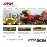 Screen shot of the CTM Harpley Engineering Ltd website.