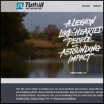 Screen shot of the Tuthill Pump Group website.