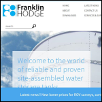 Screen shot of the Franklin Hodge Industries Ltd website.