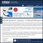 Screen shot of the Infield Systems Ltd website.