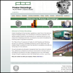 Presbar Diecastings Ltd website preview