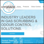 Screen shot of the Hygrade Industrial Plastics Ltd website.