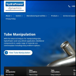 Screen shot of the Hydrapower Dynamics Ltd website.
