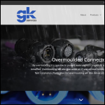 Screen shot of the GK Services Ltd website.