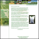 Screen shot of the South West Agronomy website.