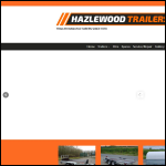 Screen shot of the Hazelwood Trailers website.