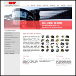 Screen shot of the GMT Rubber-Metal-Technic Ltd website.