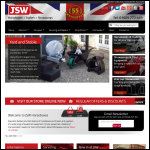 Screen shot of the JSW Trailers & Horseboxes website.