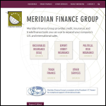 Screen shot of the Meridian Finance website.