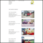Screen shot of the Daisy D (2014) Ltd website.