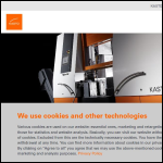 Screen shot of the KASTO Ltd website.