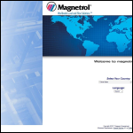 Screen shot of the Magnetrol International UK Ltd website.