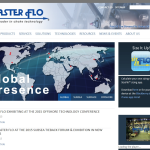 Screen shot of the Master Flo Valve Co (UK) Ltd website.