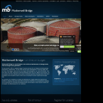 Screen shot of the Motherwell Bridge Ltd website.