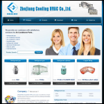Screen shot of the Cooling Co Ltd website.