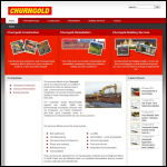 Screen shot of the Churngold Holdings Ltd website.