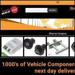 Screen shot of the Stedall (Vehicle Fittings) Ltd website.