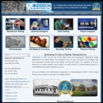 Screen shot of the Andersen Labs Inc website.