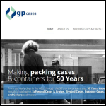 Screen shot of the G & P Cases website.