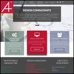 Screen shot of the A4 Plus Drawing Services Ltd website.