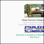 Screen shot of the Corus Colour Steels website.