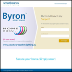 Screen shot of the C H Byron (Electrical) Ltd website.