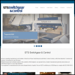 Screen shot of the STS Switchgear Motors Ltd website.