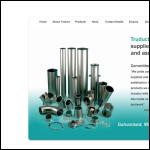 Screen shot of the Truduct Products Ltd website.