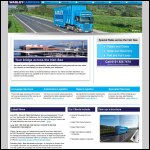 Screen shot of the Warley Carriers Ltd website.
