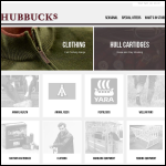 Screen shot of the J.S. Hubbuck Ltd website.