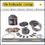 Screen shot of the The Hydraulic Centre Ltd website.