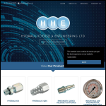 Screen shot of the Hose & Engineering (Coventry) Ltd website.