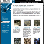 Screen shot of the BMC Sheet Metal & Fabrications Co Ltd website.