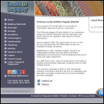 Screen shot of the Builders Supply Stores (Coventry) Ltd website.