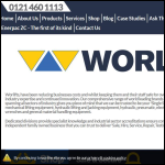 Screen shot of the Worlifts Ltd website.