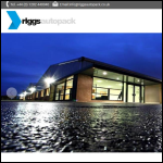 Screen shot of the Riggs Autopack Ltd website.