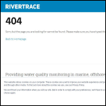 Screen shot of the Rivertrace Engineering Ltd website.