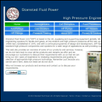 Screen shot of the Stansted Fluid Power Ltd website.