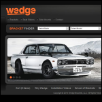 Screen shot of the Wedge Engineering website.