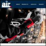Screen shot of the Air Tool Services website.
