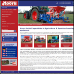 Screen shot of the Moore (UniDrill) Ltd website.