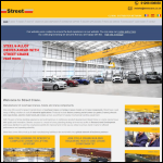 Screen shot of the Street Crane Co Ltd website.